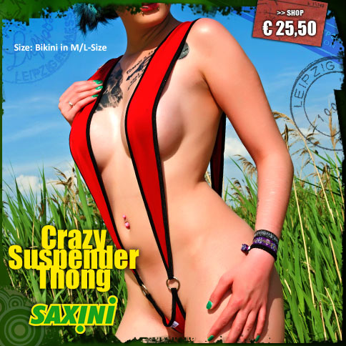 Crazy Suspender Thong
